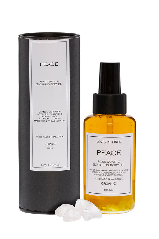PEACE ROSE QUARTZ BODY OIL