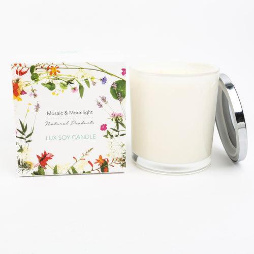 LUX Large Boxed Soy Candle 500g