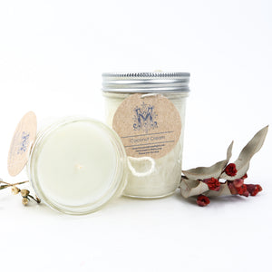 Medium Mason Jar Soy Candles 240g