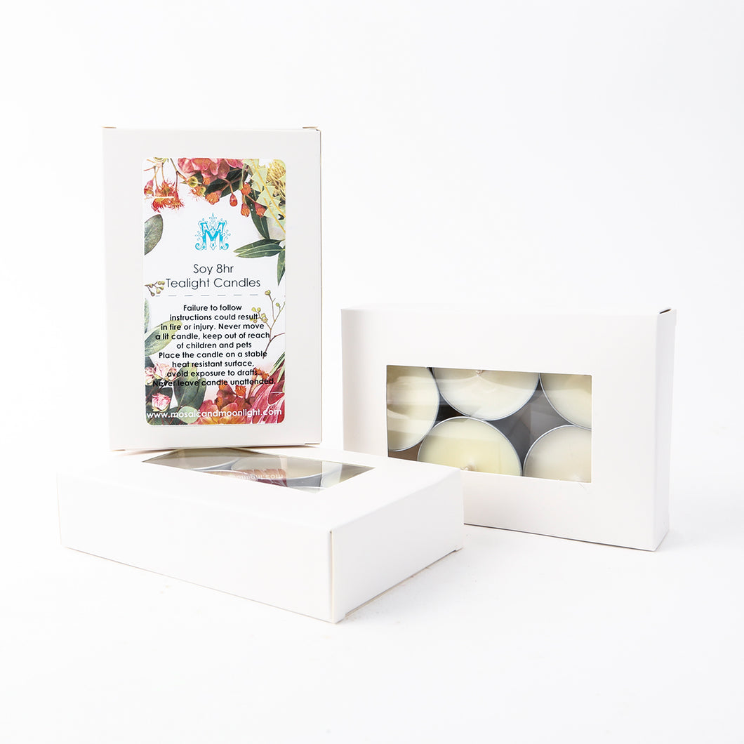 Mixed Tealights Soy 5pk