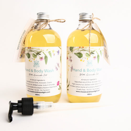 Hand & Body Wash Lemon Myrtle 500ml