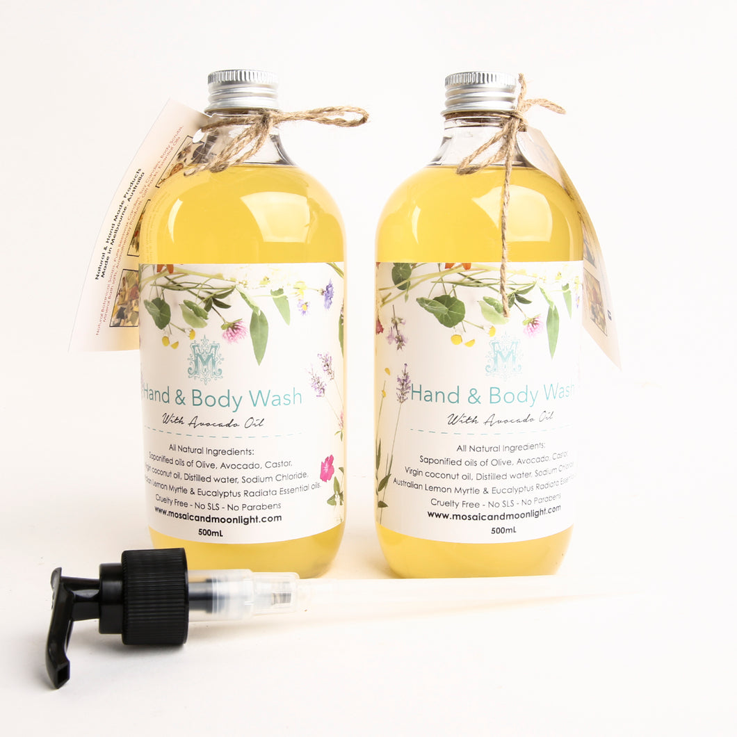 Hand & Body Wash Lemon Myrtle 500ml SOLD OUT