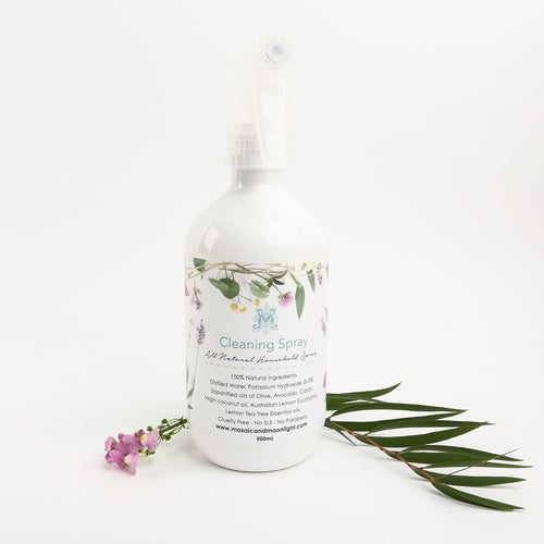 Natural Cleaning Spray Bottle 500ml