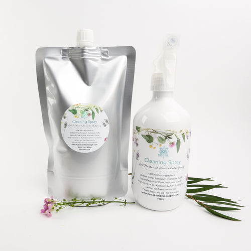 Natural Cleaning Spray Pack 1L