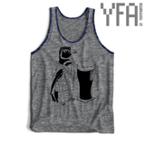 Made-To-Order Beer Penguin Tri-Blend Unisex Tank Top