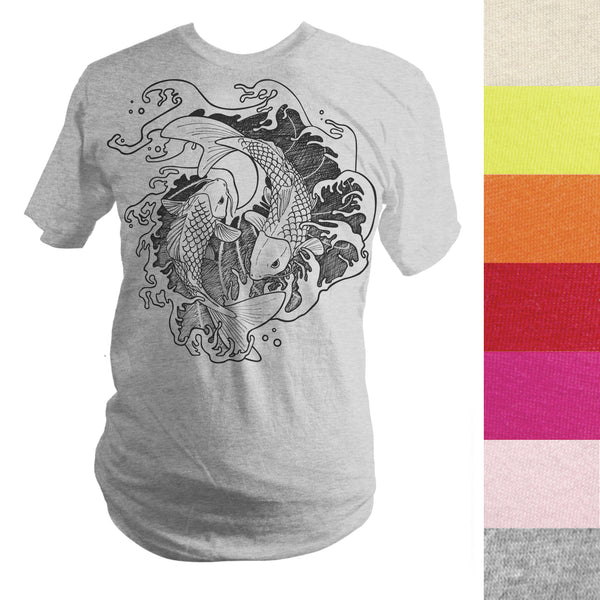 Made-to-Order Fighting Koi Fish T-Shirt