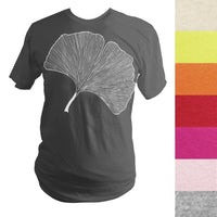 Made to Order Ginkgo Leaf T-Shirt - Yay for Fidget Art!