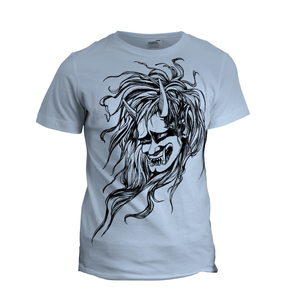 Made-to-Order Japanese Oni Head T-Shirt