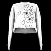 Cherry Blossom Crop Top (Made to Order)