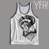 Made-To-Order Japanese Oiran Tri-Blend Unisex Tank Top