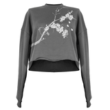 Bird and Blossoms Crop Top (Made to Order)