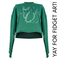 Bob Corgman the Welsh Corgi Crop Top (Made to Order)