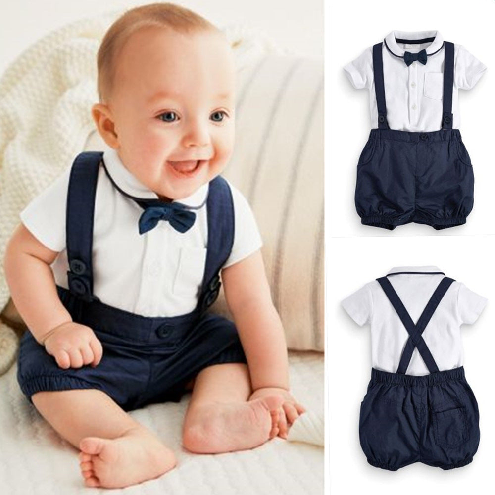 Prince George Bib Shorts & Bow Tie Formal Outfit