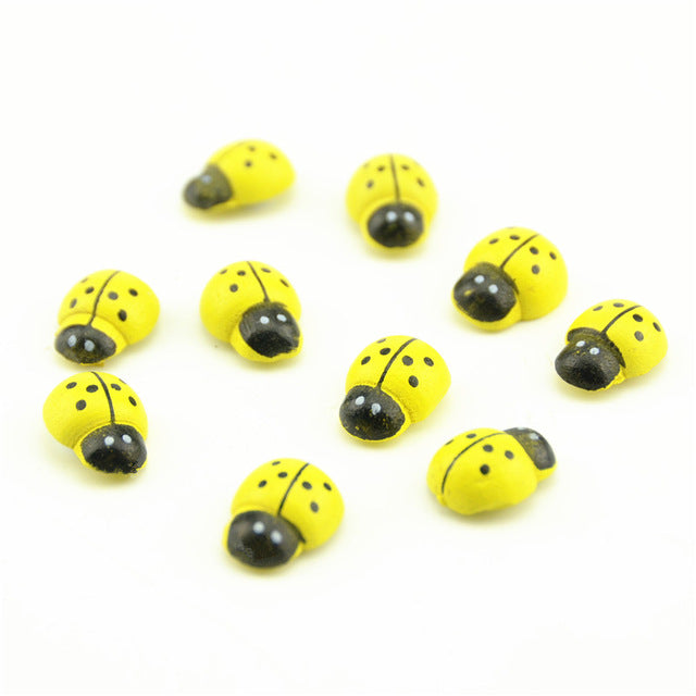 20 Pcs Ladybugs Wall Sticker - Bring Luck To Your Room