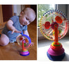 Three-Colour Rotating Windmill Toy