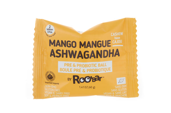 Pre & Probiotic ball with Mango and Ashwagandha