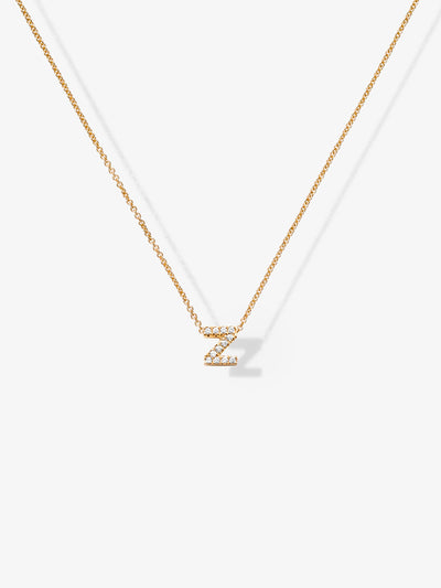Love Letters Z Diamond Necklace