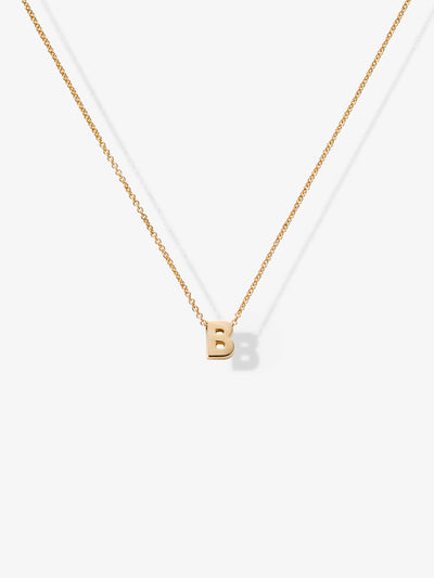 Love Letters B Necklace