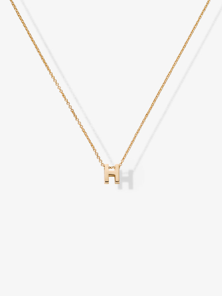 Love Letters H Necklace