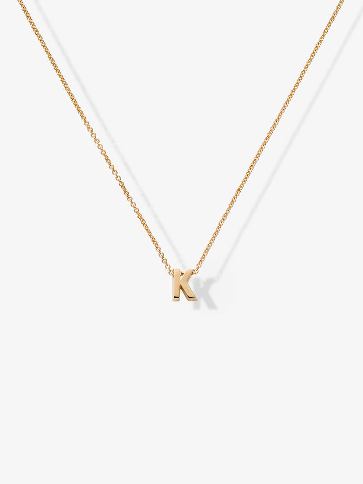 Love Letters K Necklace
