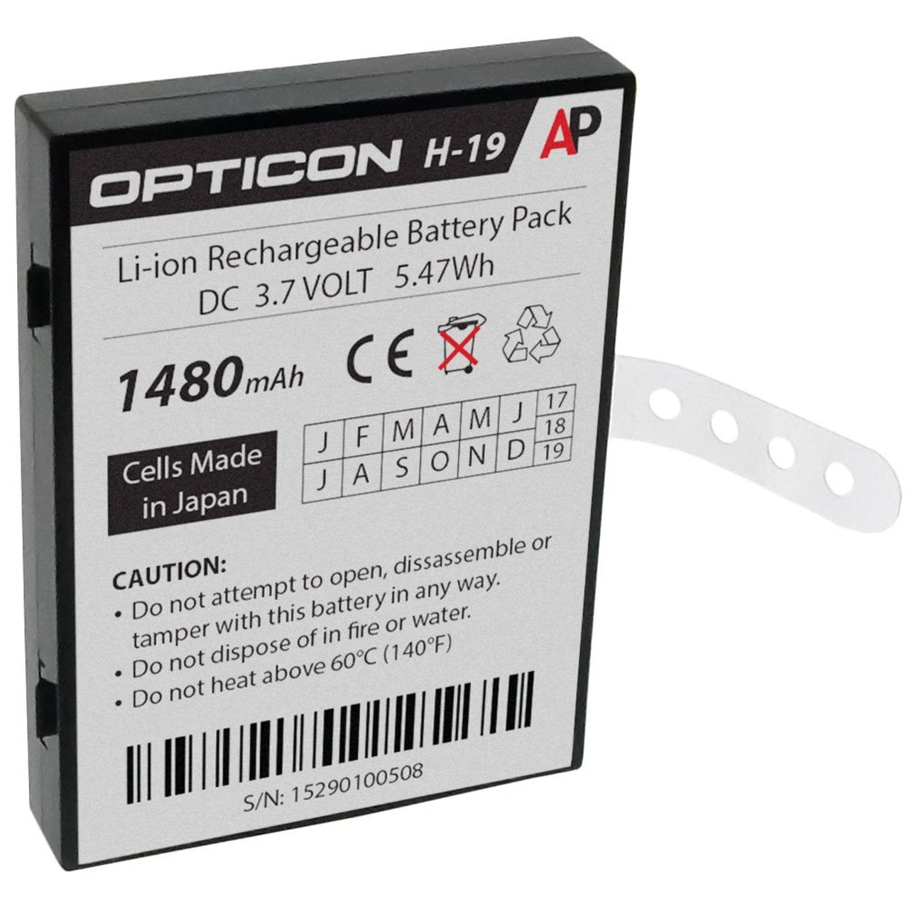 Opticon H-16 Battery