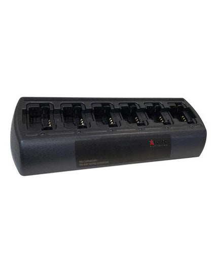 Motorola PMNN4351 Universal Rapid Six-Bay Drop-in Charger - AtlanticBatteries.com