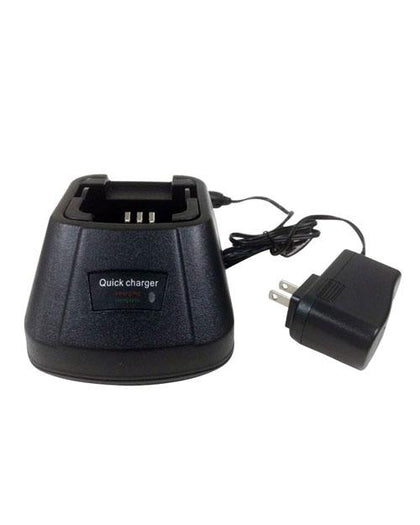 Icom IC-A6 Single Bay Rapid Desk Charger - AtlanticBatteries.com