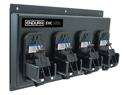 ENDURA RUGGED 4-UNIT IN-VEHICLE CHARGER FOR BK Technologies KNG / KNG2