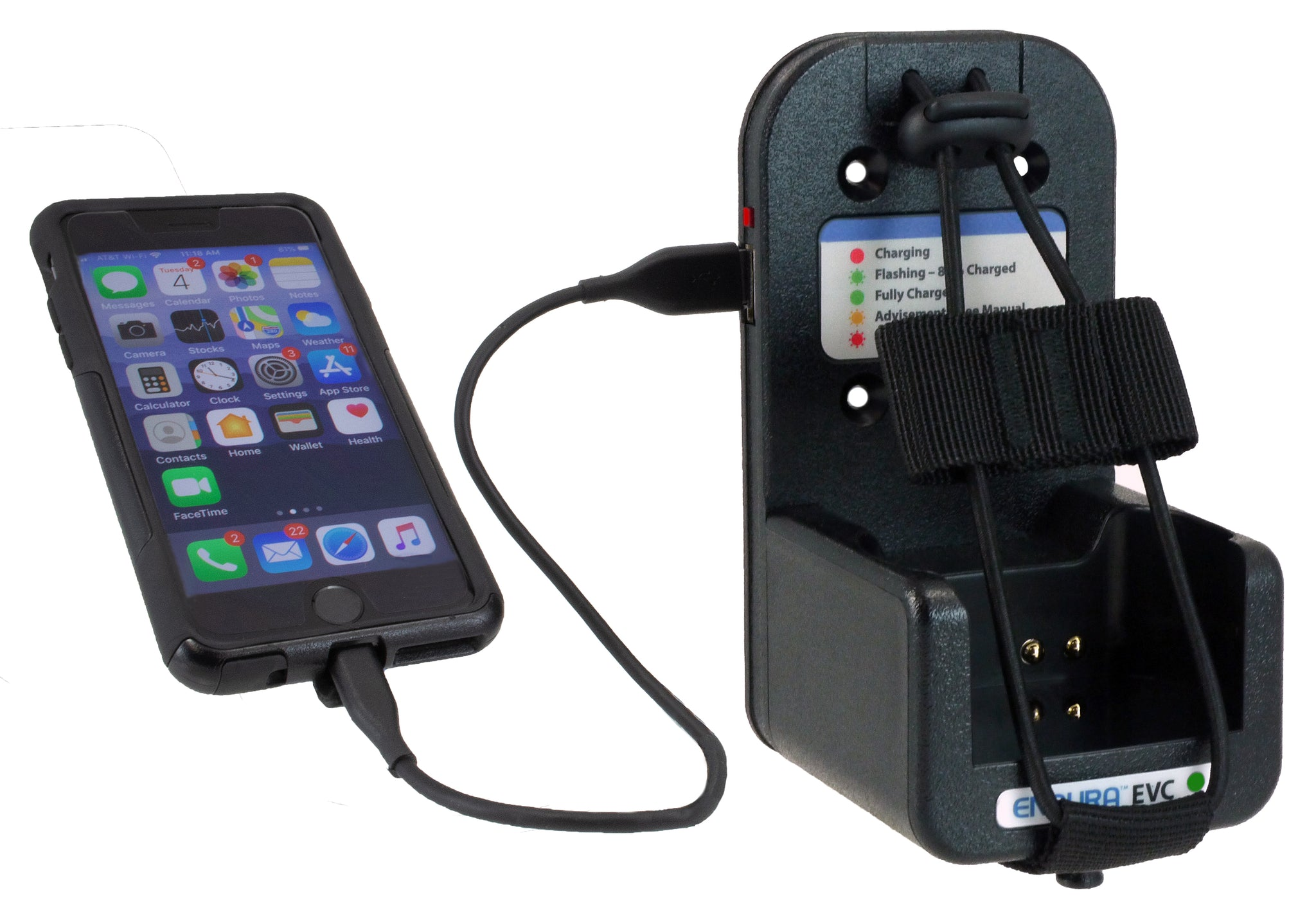 ENDURA RUGGED IN-VEHICLE CHARGER FOR BKT KNG RADIOS