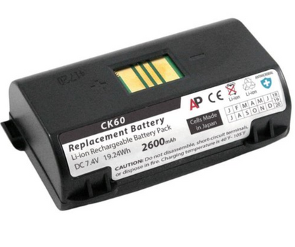 Honeywell CK60, CK61 Battery - AtlanticBatteries.com