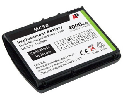 Symbol MC50 Battery - AtlanticBatteries.com