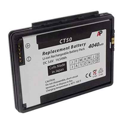 Honeywell/Datalogic Dolphin CT50 Battery - AtlanticBatteries.com