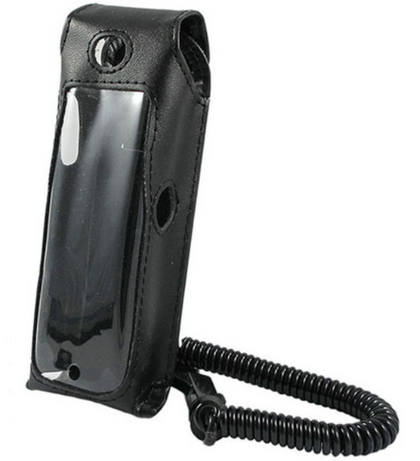 Polycom SpectraLink 8020 and 6020 Black Phone Holster - AtlanticBatteries.com