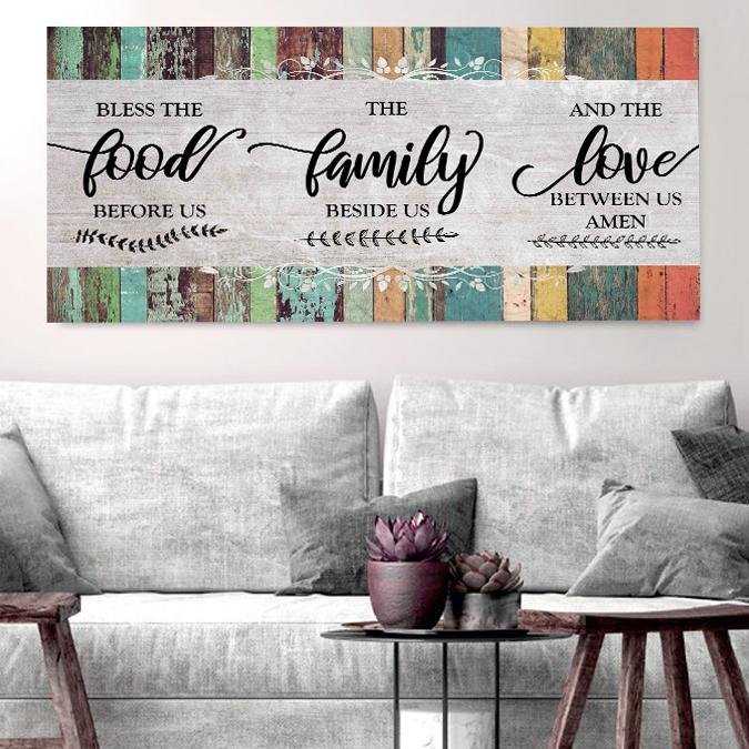 New! Christian signs for home Canvas & Wall Decor