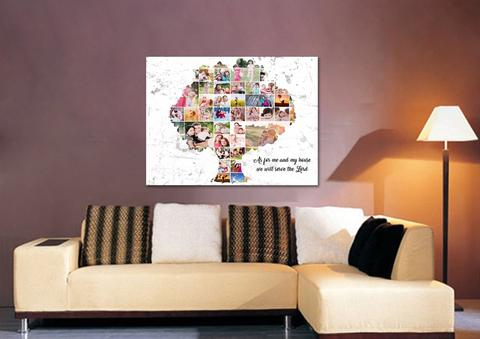 #10 family tree print Gifts for Christian Grandparents