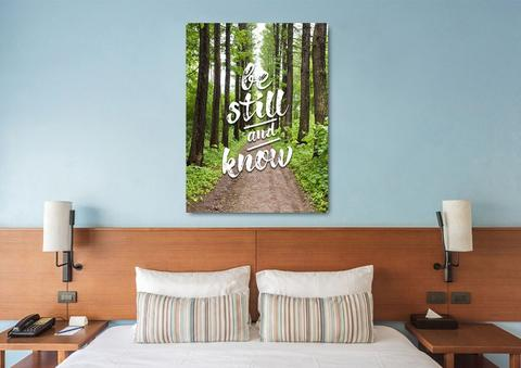 #11 be still and know wall art christian back-to-school gifts