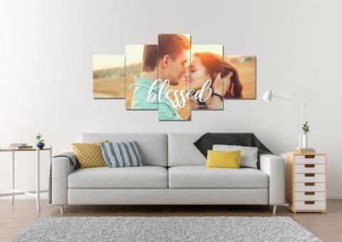 #12 customed wall art christian engagement gifts