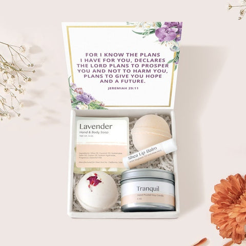 #12 jeremiah 29 11 spa box inexpensive christian gifts for women