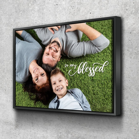 #12 very blessed wall art Christian Anniversary Gift for Husband