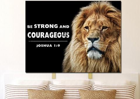 #13 wall art be strong christian gifts for new mom dad expecting parents