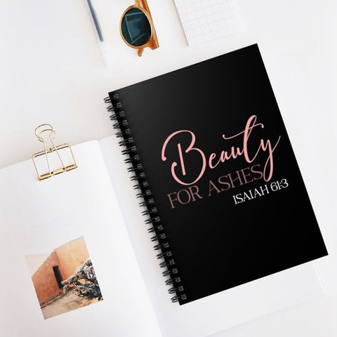 #14 isaiah 61 3 notebook inexpensive christian gifts for women