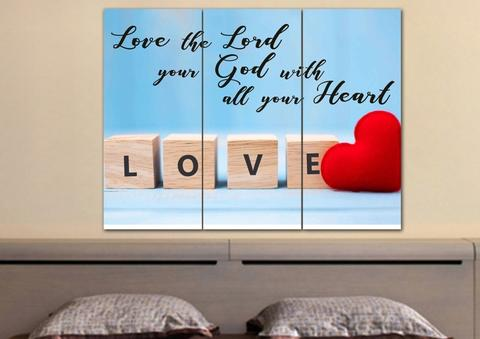 #16 love the lord your god Christian bachelorette gift