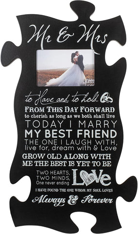 #1 picture frame christian engagement gift