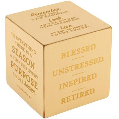 #1 quote cube with scripture on it