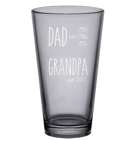 #2 glass Gifts for Christian Grandparents