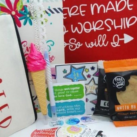 #2 teens with christ subscription box Christian gifts for youth
