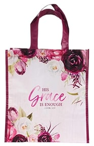 #3 2 Corinthians 12 9 tote bag Christian valentines gifts for her