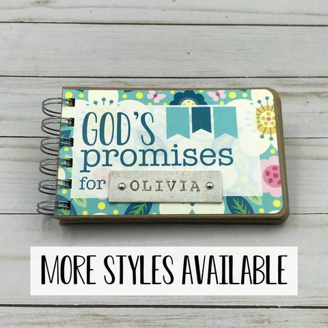 #3 Gods promises  Christian personalized baby gifts