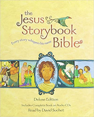 #3 Jesus storybook bible and dvd Christian Easter Gifts for Kids