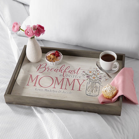 #3 breakfast in bed wood tray christian gifts for mom